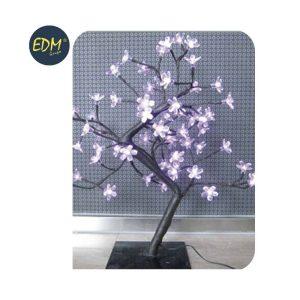 Árvore 3D Sakura Rosa 60 Leds 220-240V Ip20 45Cm Edm. Apto A