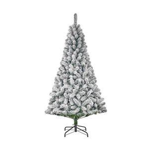 Árvore De Natal Efeito Nevado Com 398 Ramas 185X109Cm