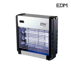 Mata Insetos Profissional Eletrónico 2X6W Área De Cobertura 15M2 Luz Actinica Medidas:26X26X10Cm Edm