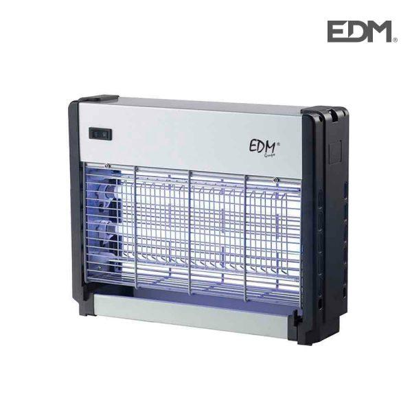 Mata Insetos Professional Eletrónico 2X8W Área De Cobertura 20M2 Luz Actinica Medidas:25X34X7