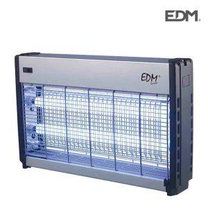 Mata Insetos Professional Elétronico 2X15W Area De Cobertura 50M2 Luz Actinica Medidas 49X31X10Cm Edm