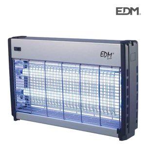 Mata Insetos Professional Elétronico 2X20W Área De Cobertura De Luz 65M2