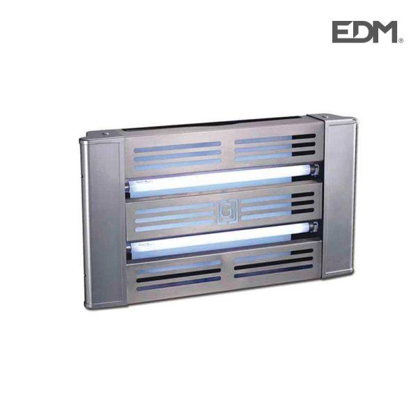 Lâmpada Fluorescente 2X15W Com Placa Adesiva Uso Interior Luz Actinica Medidas 62X35