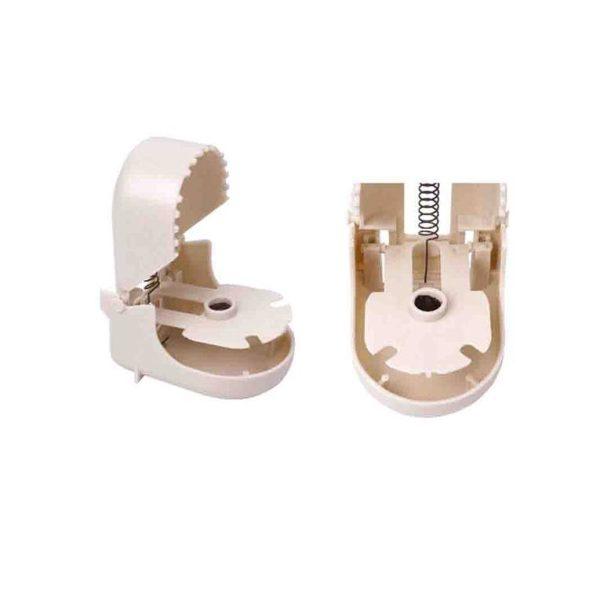 Ratoeira Plástico Pequena (Blíster 2 Unid) Armadilha De Plástico Para Ratos