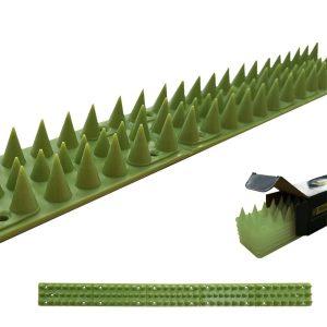 Pack De 6 Unidades Espigões Anti Gatos 50Cm Verde