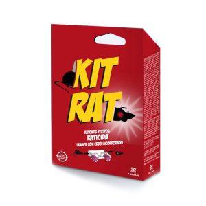 Kit Armadilha Com Raticida Para Ratos E Toupeiras Pronto Para Usar