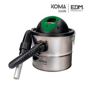Aspirador Cinzas 800W 10L Edm 30X25Cm 2Mts Filtro Lavavel Couduta Giratória 360º Temperatura Maxima Das Cinzas 40º