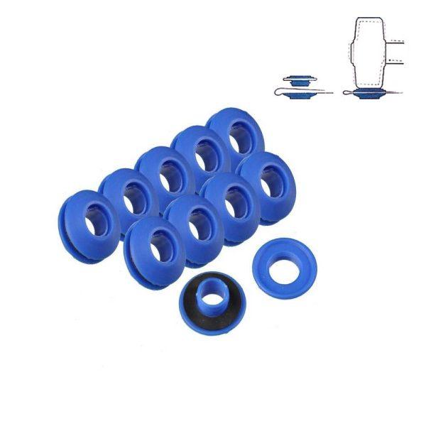 Set 10 Anilhas De Plásticos Para Toldos E Lonas