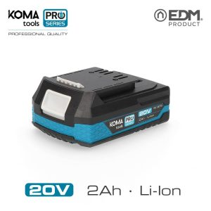Bateria Litio 20V 2.Oah Koma Tools Battery Series Edm 40