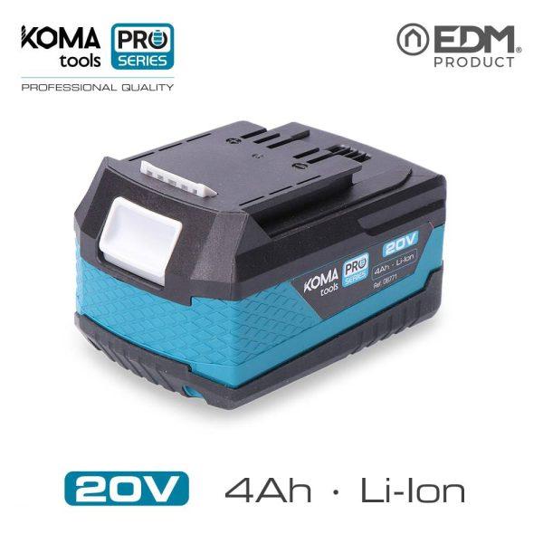 Bateria Litio 20V 4.0Ah Koma Tools Battery Series Edm 40