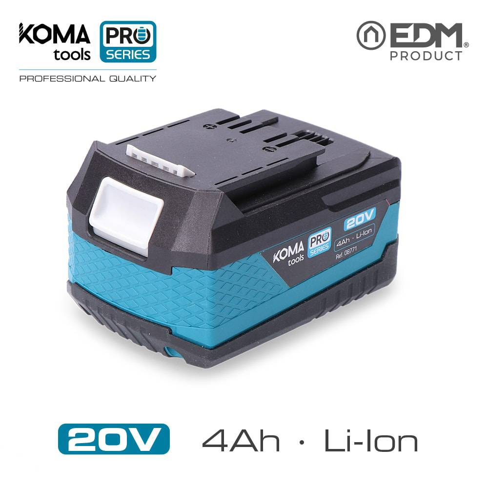 Bateria Litio 20V 4.0Ah Koma Tools Battery Series Edm 40