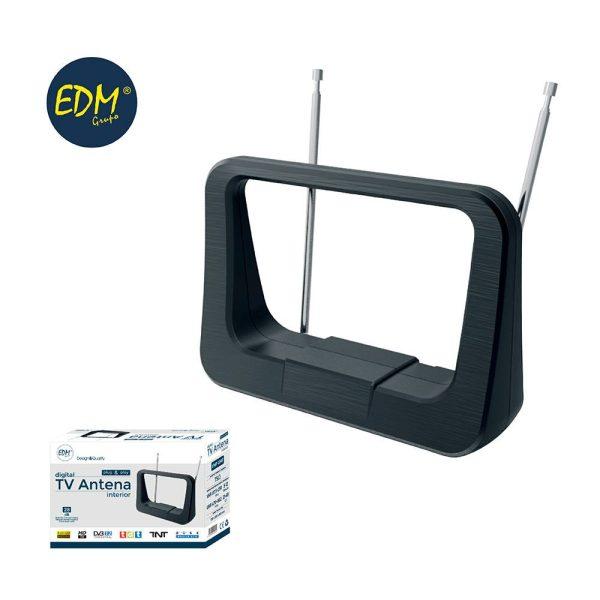 Antena Uhf Interior Tv Edm  470-862 Mhz Classic Series 87