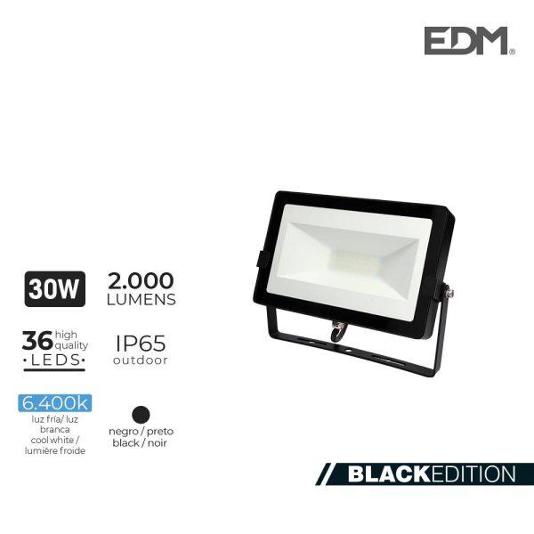 Projetor Led 30W 6400K 2000 Lumens Edm 220-240V 2