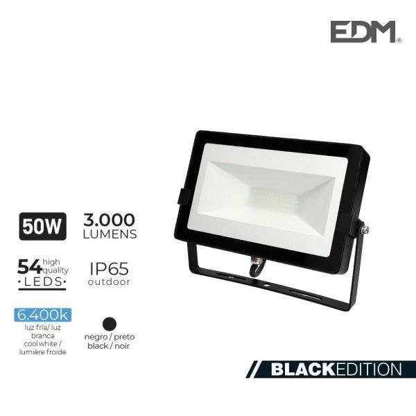 Projetor Led  50W 6400K 3000 Lumen  Edm 220-240V 4