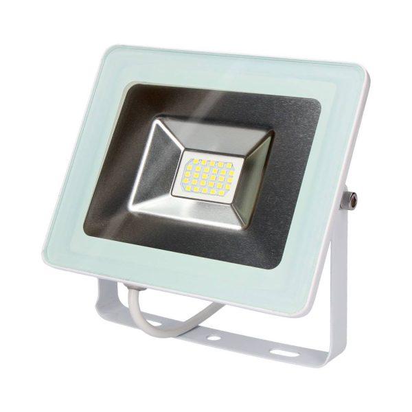 Projetor Multiled Branco Ip65 220/240V 10W 6.400K Tom De Luz Fria Edm 700 Lumens Medidas 11