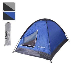 Tenda De Campismo Para 2 Pessoas Dimensão Interior 195X115Cm Dimensões Total 200X120X100Cm - Peso 1