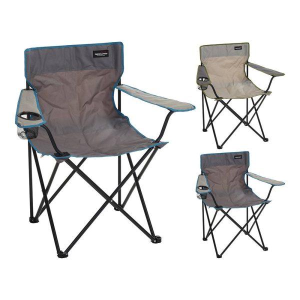 Cadeira De Camping Dobrável 2 Cores Sortidas S H81Xsd51Xsh42Cm