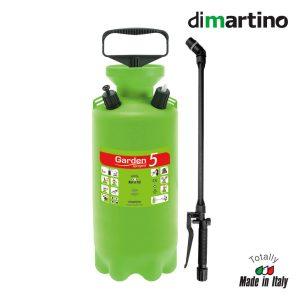 Vaporizador Dimartino - Válvula De Segurança Pulverizadora De 5 L Com Indicador De Pressão