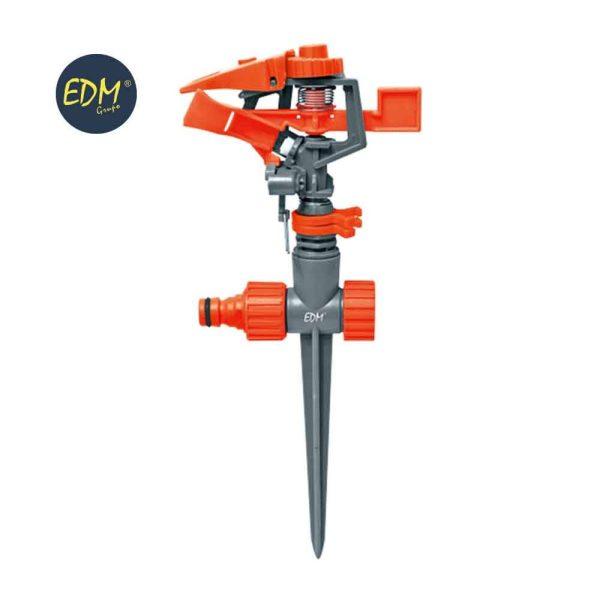 Aspersor Ajustavel/Setor Com Estaca 20-360º Max. 400M2 Ajustavel (Blister) Edm