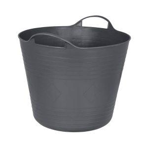 Cubo De Plastico Flex 27L 38X30Cm Antracite
