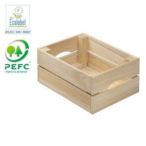 Caixa Paulonia 1X23X15 Cm 100% Pefc Cert Astigarraga Tamanho Produto Embalado 29X29X5Cm
