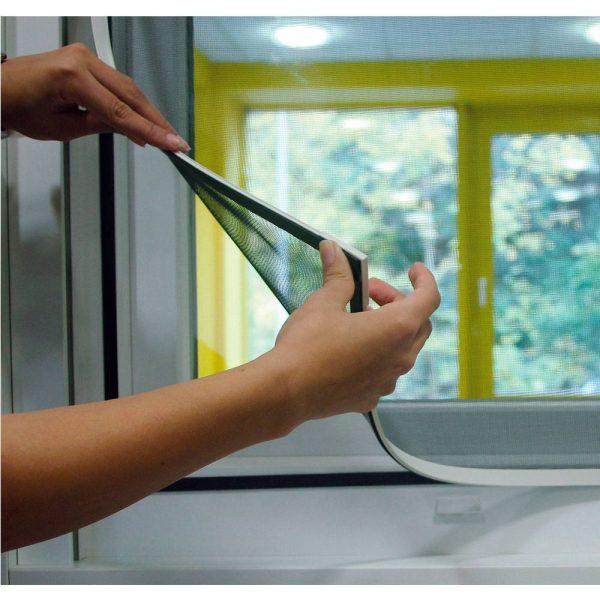 Mosquiteira Com Moldura Magnetica Branca Medidas:100X120Cm