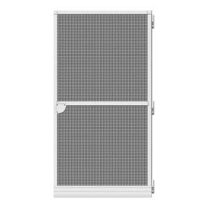 Porta Mosquiteira Abativel Basic Branco 100X210Cm