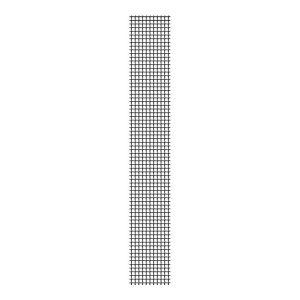 Remendo Adesivo Fibra De Vidro Antracita 5X100Cm Para Mosquiteira