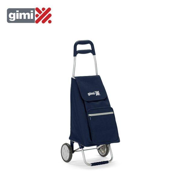 Carro De Compras Argo Blue Capacidade 45L - 30Kg Impermeavel 37X33X95