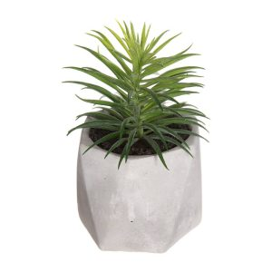 Planta Decorativa Com Vaso 7X14Cm Modelos Sortidos