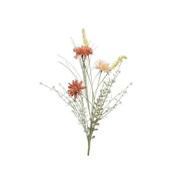 Ramo De Várias Flores Artificiais Com Talos De 20Cm