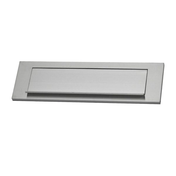 Placa Para Caixa De Correio Aluminio Medida Exterior: 25