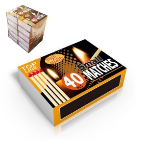 Pack De 10 Caixas De Fosforos (Caixa De 40 Unid)
