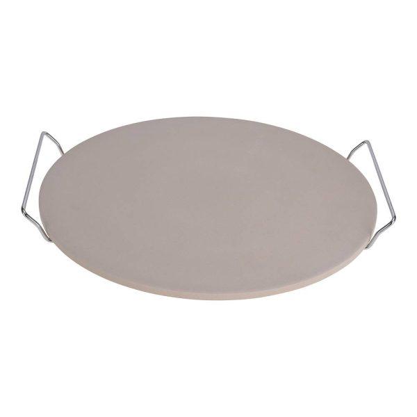 Pedra Para Fazer Pizzas Com Asas Dia33Cm Com Asas De Metal 1