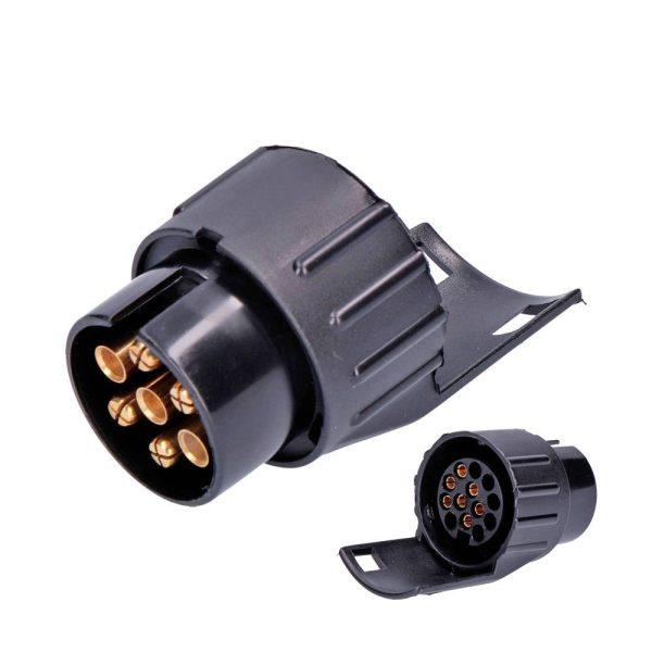 Adaptador De Reboque 7 A 13 Pins. 12V. Adequado Para Um Rebo