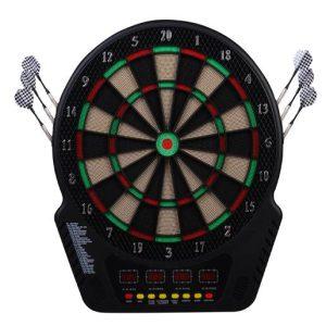 Alvo Electrónico 6 Dardos Jogo Digital Com Som 27 Jogos 243 Variantes 44x51.5x3.2