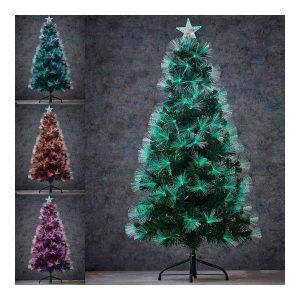 Arvore De Natal 120Cm Com Led Incorporado. Iluminação Por Fi