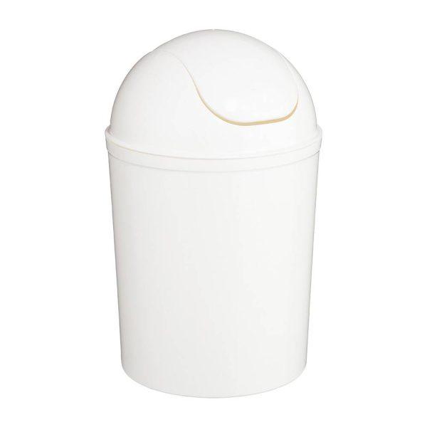 Balde Do Lixo Cor Branco 7 Litros