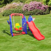 Baloiço-com-escorrega-e-tabela-de-basquetebol-para-crianças-Plástico-167x164x120cm-1