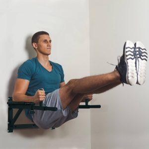 Barra de Musculação para Parede Flexões em Casa Abdominais