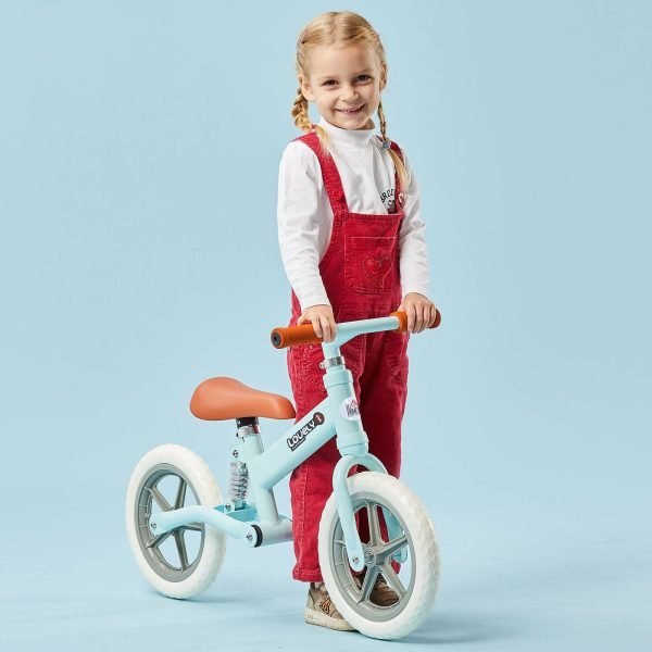 Bicicleta Sem Pedais Para Crianças Acima de 2 Anos Bicicleta de Treino Equilíbrio 85x36x54 cm (LxANxAL) Azul