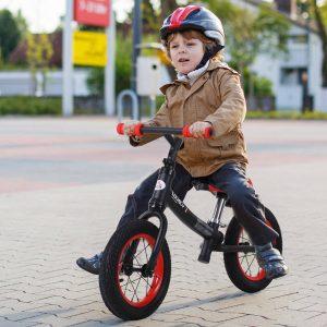 Bicicleta sem pedais Altura do assento ajustável 31-45cm crianças acima de 2 anos cor Preto carga 25kg