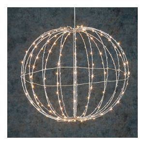 Bola Decorativa Com 300 Leds Incorporados Ip44 40Cm