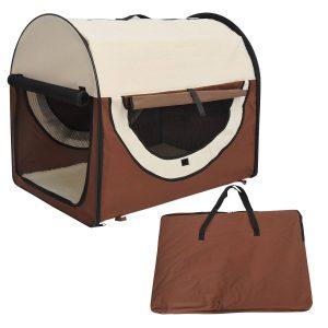 Bolsa de transporte gato cão Animais de estimação Viagem dobrável de Viagem 2 cores