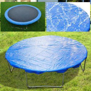 Capa Protetora Impermeável para Cama Elástica Ø244cm Trampolins Azul