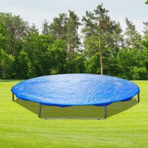 Capa protetora impermeável para cama elástica Ø366cm Trampolins azul