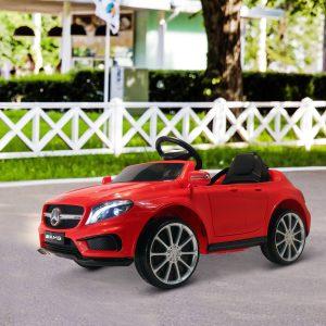 Carro Eléctrico Mercedes Benz GLA para Crianças acima de 3 Anos com Controlo Remoto MP3 USB Luzes y Sons Carga 30kg 100x58x46cm