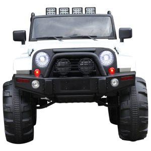 Carro elétrico com para crianças acima de 3 anos con Controle Remoto MP3 Luzes e Sons Bateria 12 V Carga 30 kg 128x78x76 cm