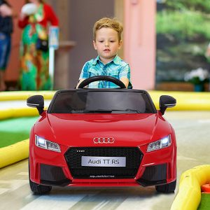Carro elétrico infantil Carro de brinquedo infantil acima de 3 anos com controle remoto com música e luzes Bateria 6V Carga 30 kg 103x63x44cm