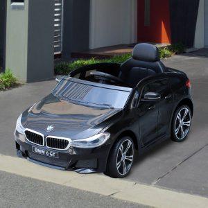 Carro elétrico para criança BWM 6GT a partir de 3 anos de idade com controle remoto Carga 30 kg 106x64x51cm